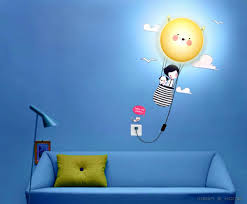 lovly wallpaper stickers 3d cute diy wall sticker lamp decal lovly wallpaper stickers 3d cute diy wall sticker lamp decal nursing kid room wall decal vinyl wall decals from wanginqing 88 06 dhgate com