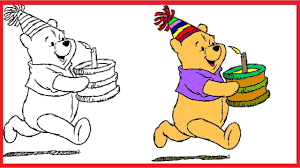 disney color and play winnie the pooh coloring pages winnie