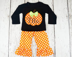 Infant Halloween Costumes Pumpkin Halloween Etsy