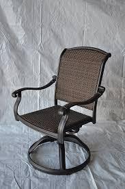 Outdoor Swivel Chair by Amazon Com Santa Clara Outdoor Set Of 4 Patio Swivel Rocker