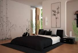 Japanese Style Bedrooms Floor To Ceiling Windows Brown Wooden Two - Japanese design bedroom