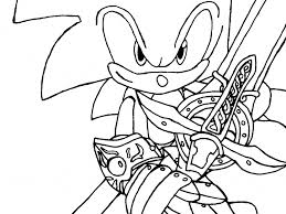 download dark sonic coloring pages ziho coloring