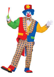 clown costumes clown costume mens clown costumes