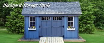 backyard storage sheds best in backyards
