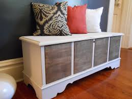 Dining Room Chest by Hope Chest Turned Dining Room Bench The Styled Soul