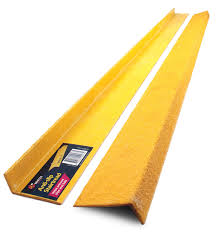 anti slip stair nosing yellow fibreglass 70x30 1 2m euro signs