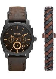 bracelet fossil images Fossil mens modern machine watch bracelet set mcelhinneys jpg