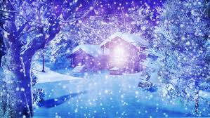 snowy christmas pictures christmas snowy scene 3d animation stock footage video 1613938