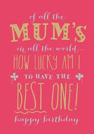 best mum contemporary mum birthday card 2 75 creased cards