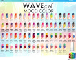 perfect match colors wavegel mood temperature change wave gel nail polish more 66