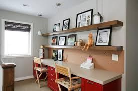 floating desk design wall units interesting shelves above desk floating shelves above