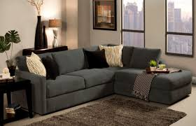 Reversible Sectional Sofas by Fascinating Figure Grey Sofa With Studs Picture Of Leather