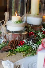 Xmas Table Decorations by 226 Best Christmas Table Decorations Images On Pinterest