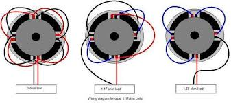 quad voice coil wiring diagram quad wiring diagrams collection