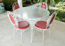 Used Patio Furniture White Wrought Iron Patio Furniture U2013 Bangkokbest Net