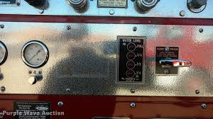 seagrave fire truck item bu9912 sold march 7 government