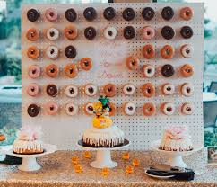 z cake topper wedding donut wall z cake topper z
