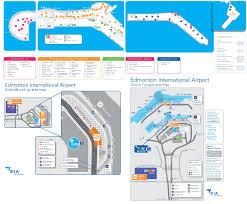 edmonton airport map