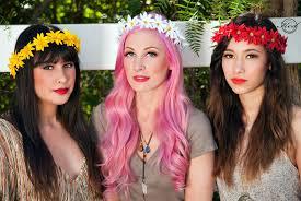 festival flower headbands flower crown festival inspiration the fashion supernova