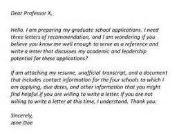 how to request a recommendation letter for grad