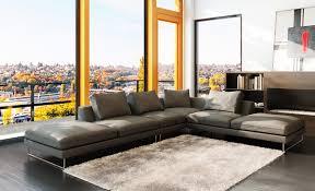 sectional sofa design grey leather sofa sectional buy bergamo