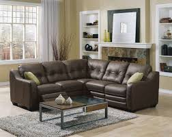 Square Sectional Sofa Splashy Leather Reclining Sectional In Family Room Transitional