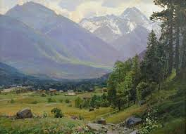 Mountain Landscape Paintings by 47 Best Babich Images On Pinterest Landscape Paintings
