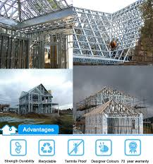 house framing cost low cost light gauge steel framing prefabricated residential