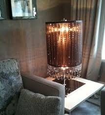 clear crystal stairwell light sculpture from spina lighting
