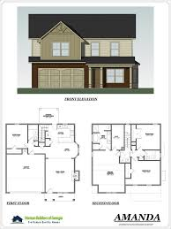 Builder Floor Plans by Patriots Point In Locust Grove Georgia By Horizon Builders Of