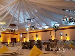 Ceiling Drapes For Wedding San Marino Club Troy Wedding Ceiling Encore Event Group