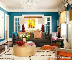 livingroom colors colorful living room home decor for cheerful souls