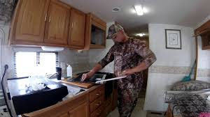 nomadic native an easy to install rv kitchen backsplash youtube