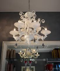 Spare Parts For Chandeliers White Ca U0027rezzonico Chandelier With 6 Lights Spare Parts For