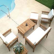 Sale Patio Furniture Sets by Teak Outdoor Furniture Clearance Outdoorlivingdecor