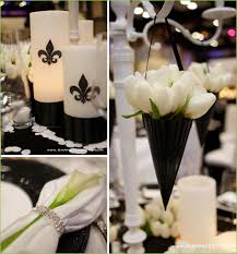 black and white wedding black and white wedding flower centerpieces new york the wedding