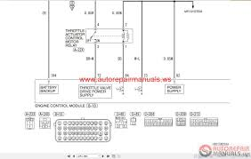 mitsubishi lancer evolution x 2008 wiring diagrams auto repair