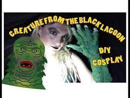 Creature Black Lagoon Halloween Costume Creature Black Lagoon Diy