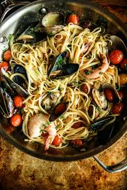seafood pasta baked in parchment paper the pioneer woman