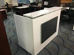 Reception Desk Shell Dfs Designs Reception Desk Shell Which Fits A 15 Monitor