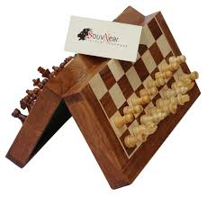 amazon com souvnear 10 5 inch chess set handmade premium