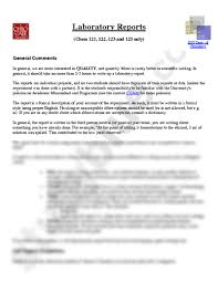 laboratory reports docx chemistry 121 with wu at the ohio state