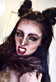Werewolf Halloween Makeup by Best 25 Wolf Makeup Ideas On Pinterest Haloween Makeup Lion