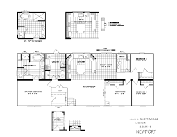 clayton waco 2 smh28684a the newport 1 791 sq ft 4 bedroom