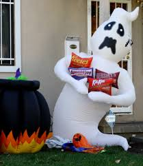 halloween ghost lawn ornament picture free photograph photos