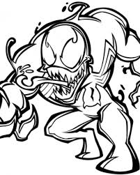 venom coloring pages free printable coloring pages 20236
