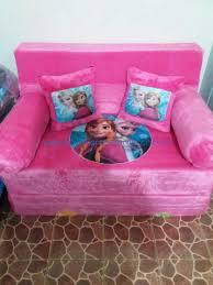 Sofa Bed Anak Murah Sofa Bed Bahan Rasfur Tebal Busa 40cm Endis Karpet Karakter