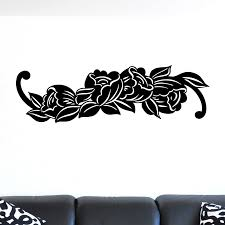 simple flower decal wall sticker world of wall stickers simple flower decal wall sticker decal a