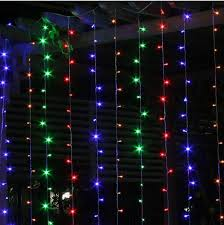 Curtain Lights Amazon by Cheap 6m 3m 600 Led Curtain Light Outdoor Wedding Party Fairy
