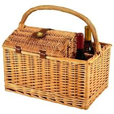 wine picnic baskets picnic baskets banana leaf wine picnic basket torhd club